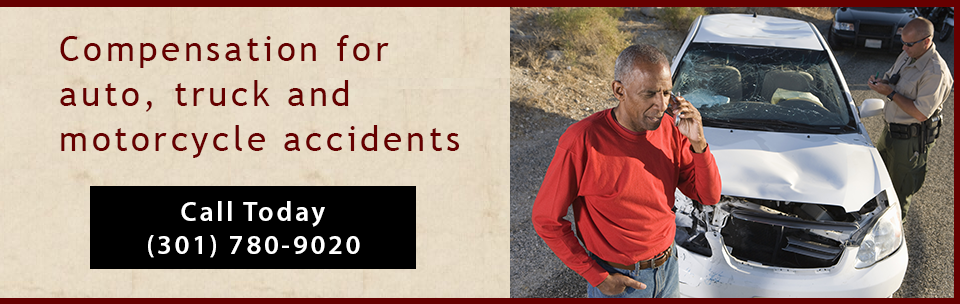 Banner: Auto accidents